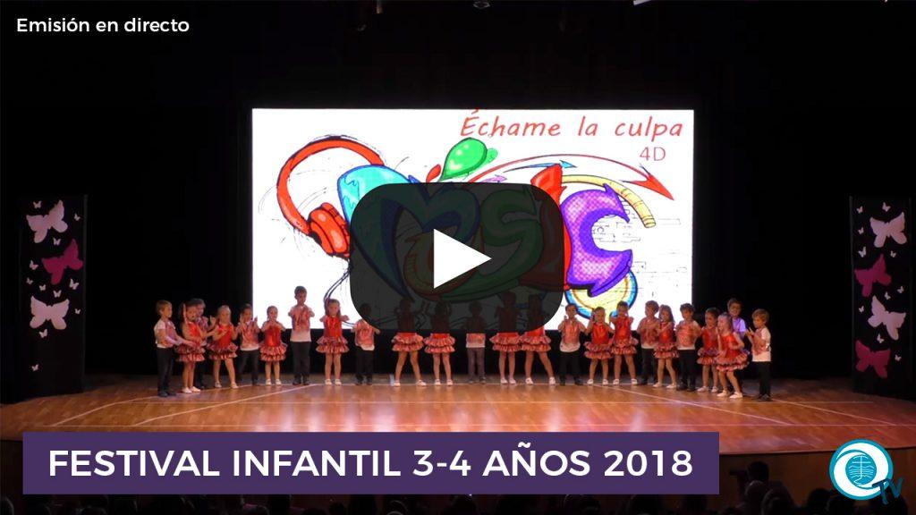 Festival Infantil 3-4 Años 2017-18