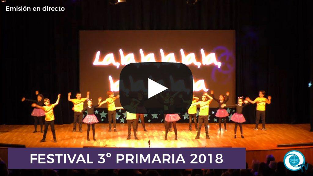 Festival Un mundo mejor 3º Primaria 2018
