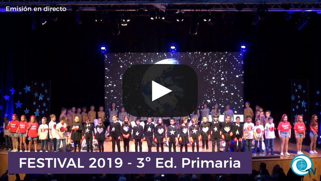 Festival 2019 3º Primaria