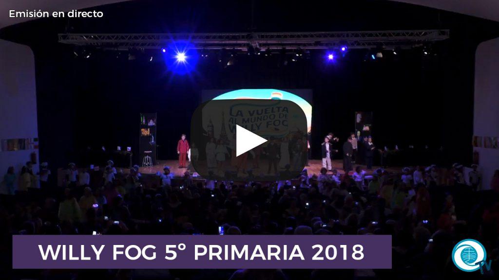 Willy Fog 5º Primaria 2018